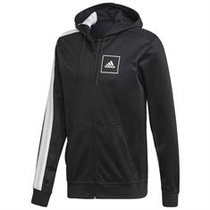 Adidas 3-Stripes Piqué Hoodie FZ