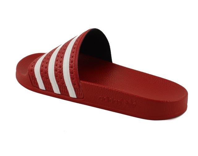 adidas slippers rood