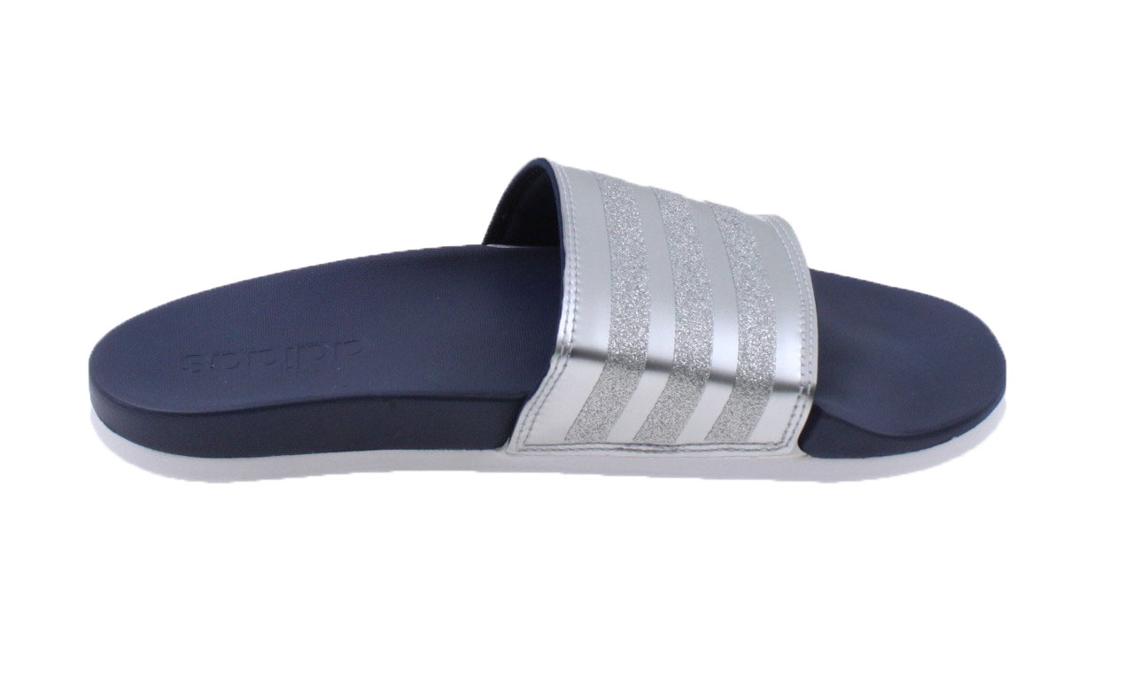 purchase cheap aa7cd e8285 Adidas Adilette Cloudfoam Plus Explorer Badslippers. CG3411 Collegiate Navy  Ftwr White. Product afbeelding Product afbeelding ...