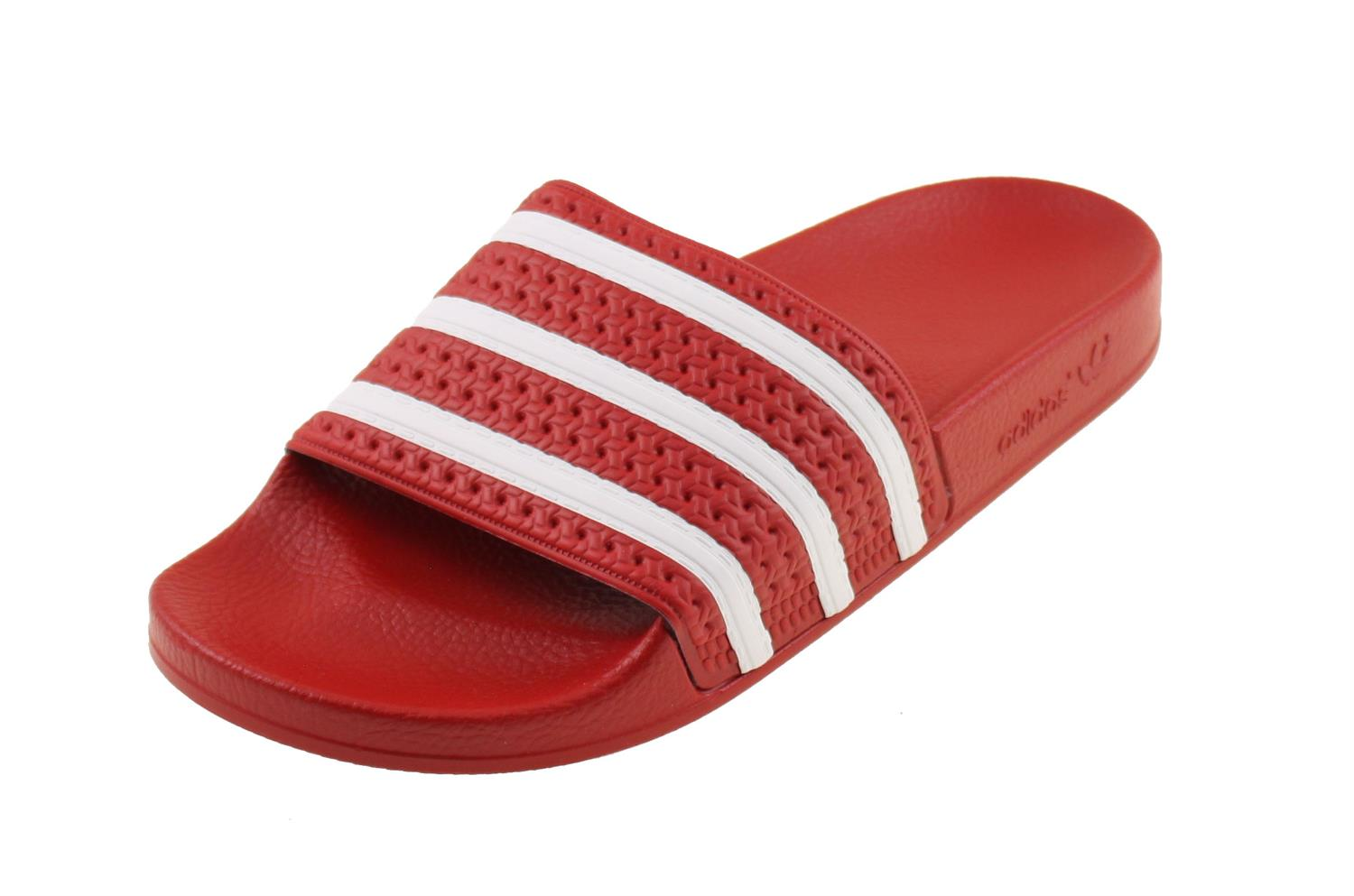 adidas originals slippers rood