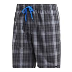 Adidas Check Geruit Zwemshort