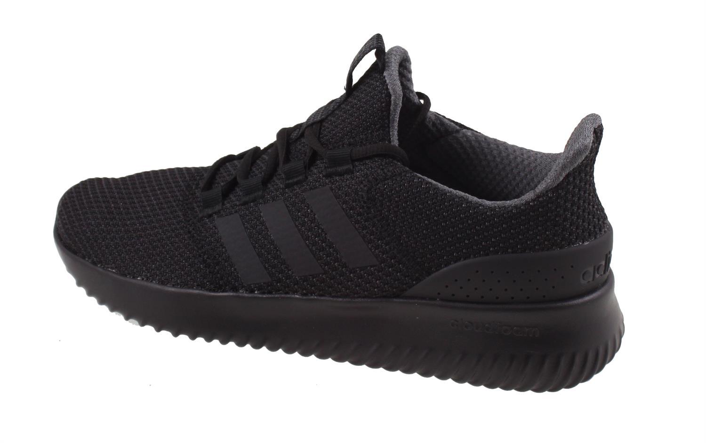 adidas cloudfoam heren zwart