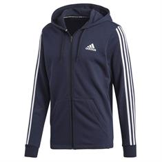 Adidas Must Have 3-stripes Full Zip French Terry Hoodie