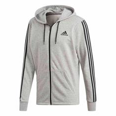 Adidas Must Have 3 Stripes Full Zip French Terry Hoodie