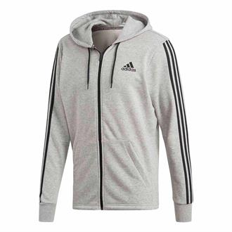 95de3247461 Adidas Must Have 3 Stripes Full Zip French Terry Hoodie