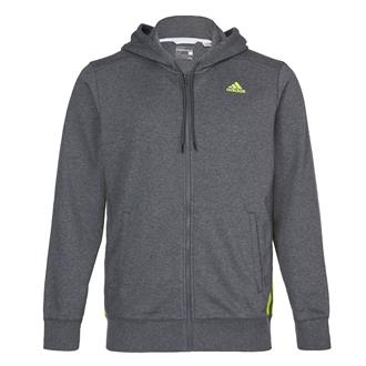Adidas Sport Essentials 3-Stripes Mid Full Zip Hoodie