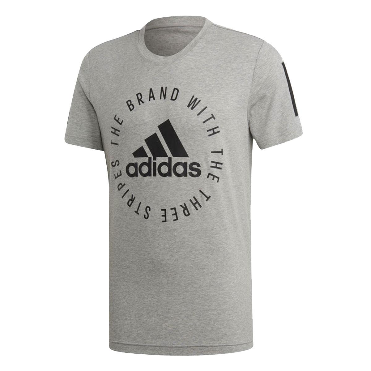 Adidas Essentials Crew T shirt Heren Shirts Kleding