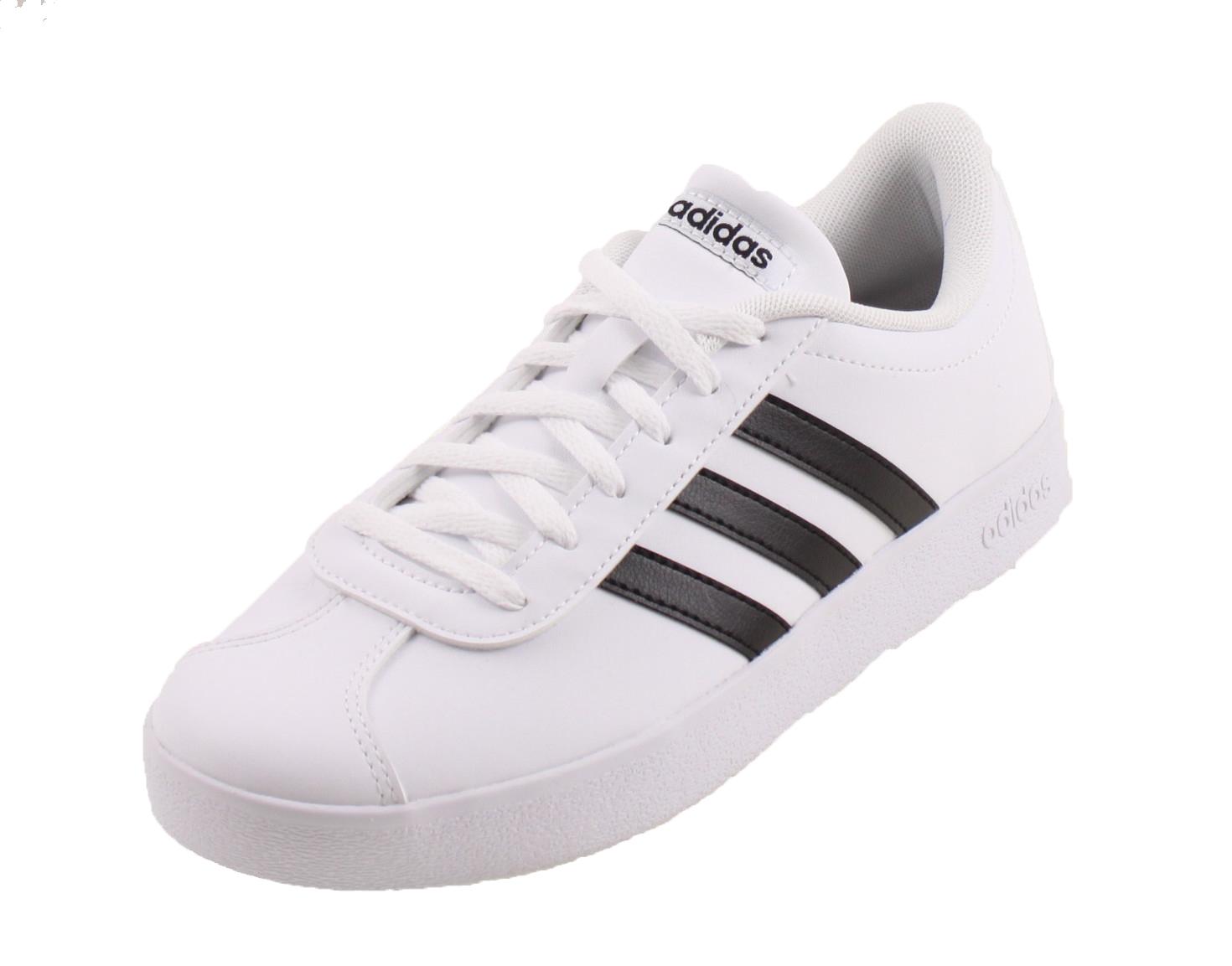 9ea147003ba Adidas VL COURT 2.0 CMF C WIT ZWART online kopen bij Sportpaleis.