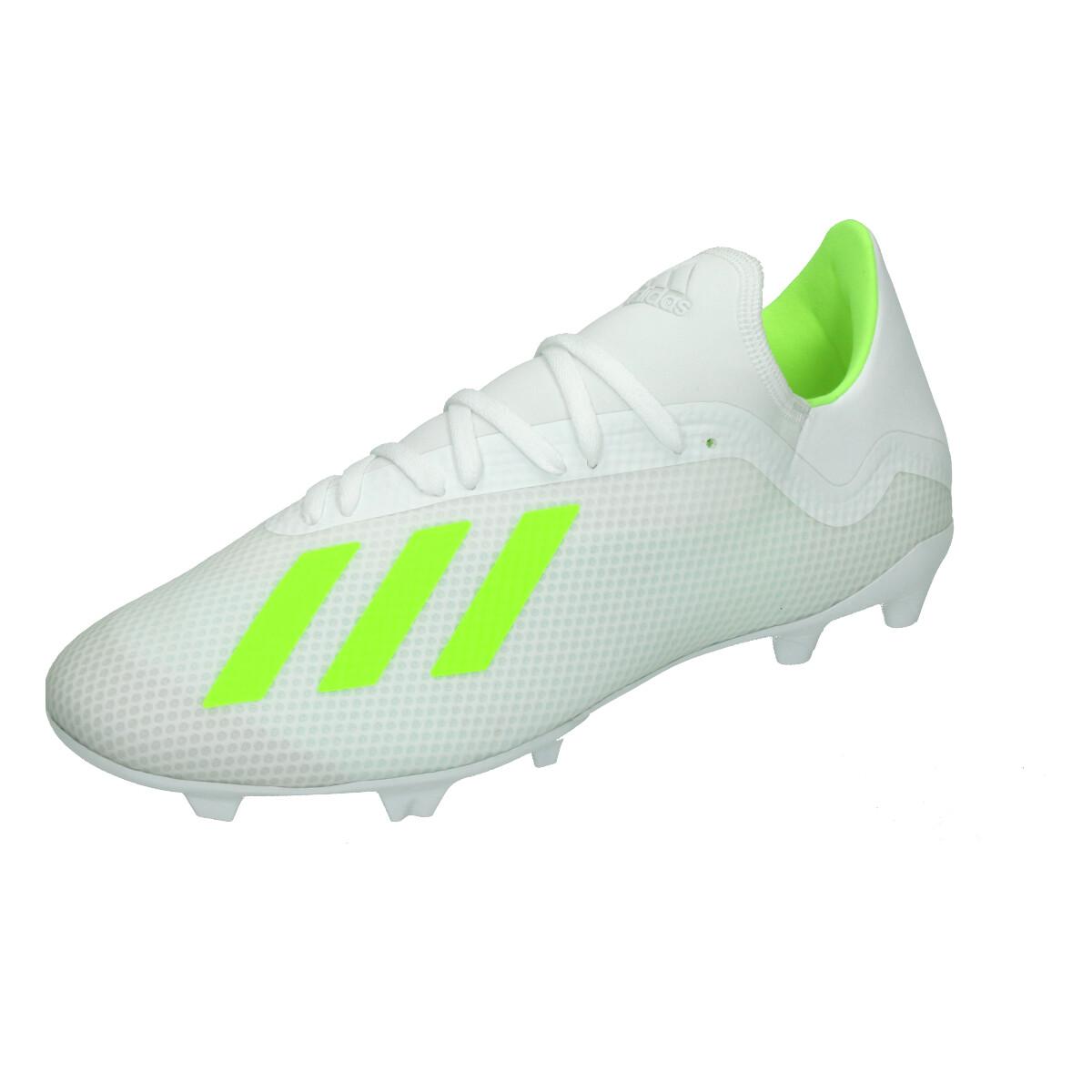 09f9d3ec2d3 Adidas X 18.3 FG WIT/GEEL online kopen bij Sportpaleis.