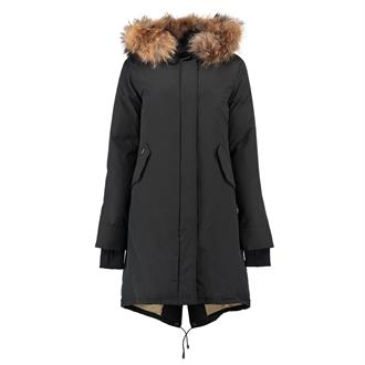 Airforce Fishtail long parka Winterjas