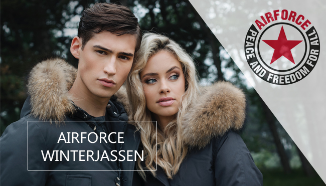 Airforce winterjassen