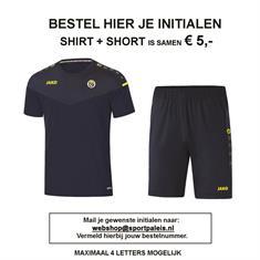 AS'80 Initialen Academy shirt & broek