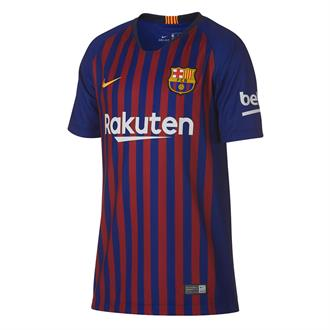 Barcelona Breathe Squad Stadium Home voetbalshirt 18/19 Junior