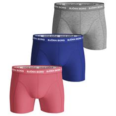 Bjorn Borg BOXER SAMMY 3P SEASONAL SOLID