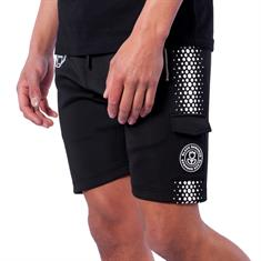 Black Bananas Hexagon Short