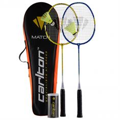 CARLTON MATCH 100 SET 2X RACKET+SHUTTLE