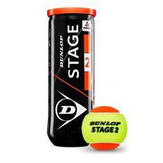 Dunlop Stage 2 Orange Tennisballen 3 stuks