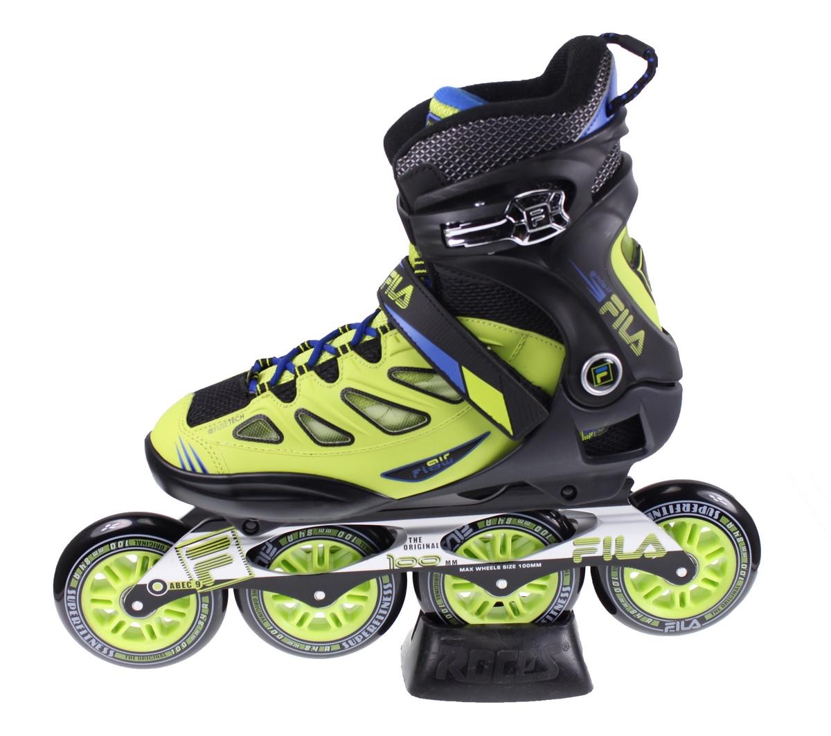 5ffce78ce1e Fila GHIBLI 100 MM Skates ZWART/GROEN online kopen bij Sportpaleis.