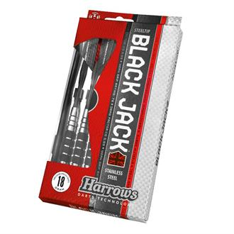 Harrows Darts Black Jack Steeltip Dartpijlen