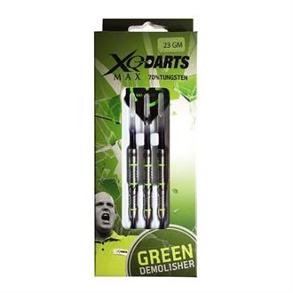 Harrows Darts Michael van Gerwen Green Demolisher