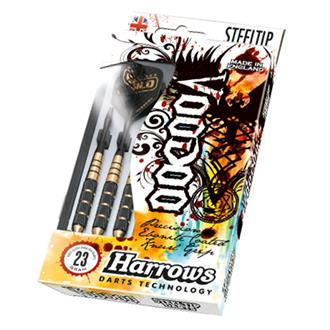 Harrows Darts Voodoo Gold Steeltip Dartpijlen