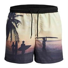 Jack & Jones Tech Cali sublimati zwemshort