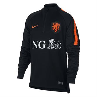 Nederlands Elftal Dry Squad Dril Trainingtop Junior 18/19
