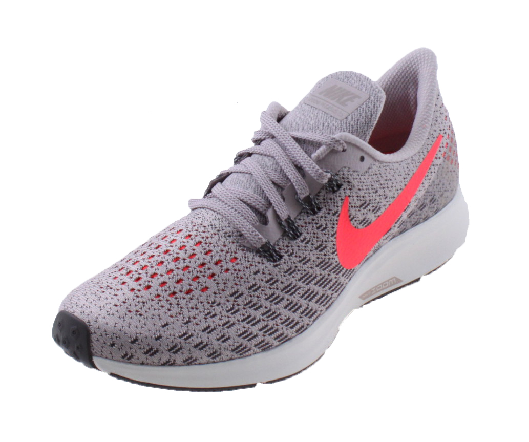 f3334ea720f Nike Air Zoom Pegasus 35 Dames Hardloopschoen. 942855 602 Particle Rose  Thunder Grey Summit White Flash Crimson
