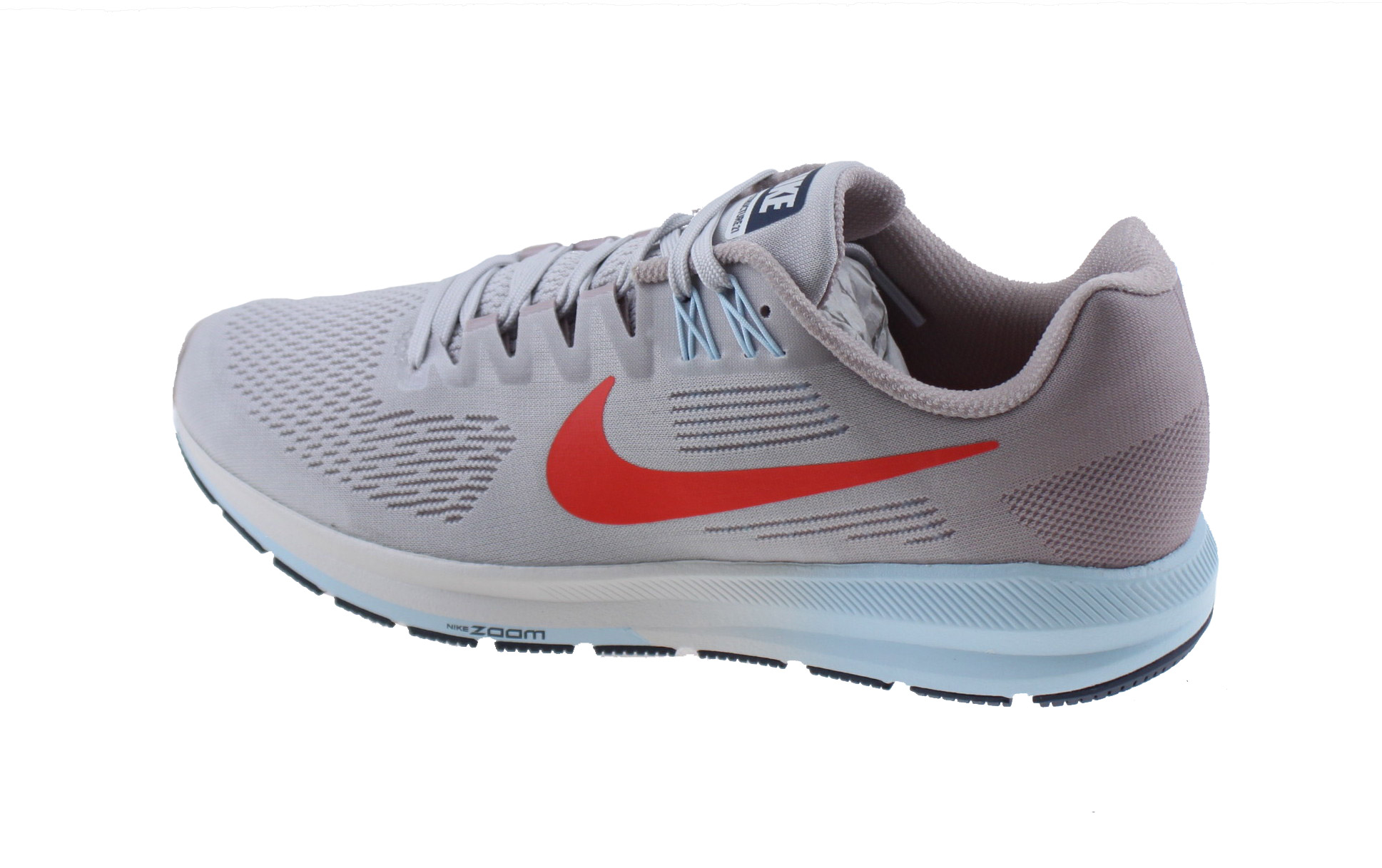 9d8f25fcc0a Nike Air Zoom Structure 21 Dames Hardloopschoen. 904701 006 Vast Grey/Elemental  Rose Cobalt Tint Habanero Red. Product afbeelding Product afbeelding  Product ...