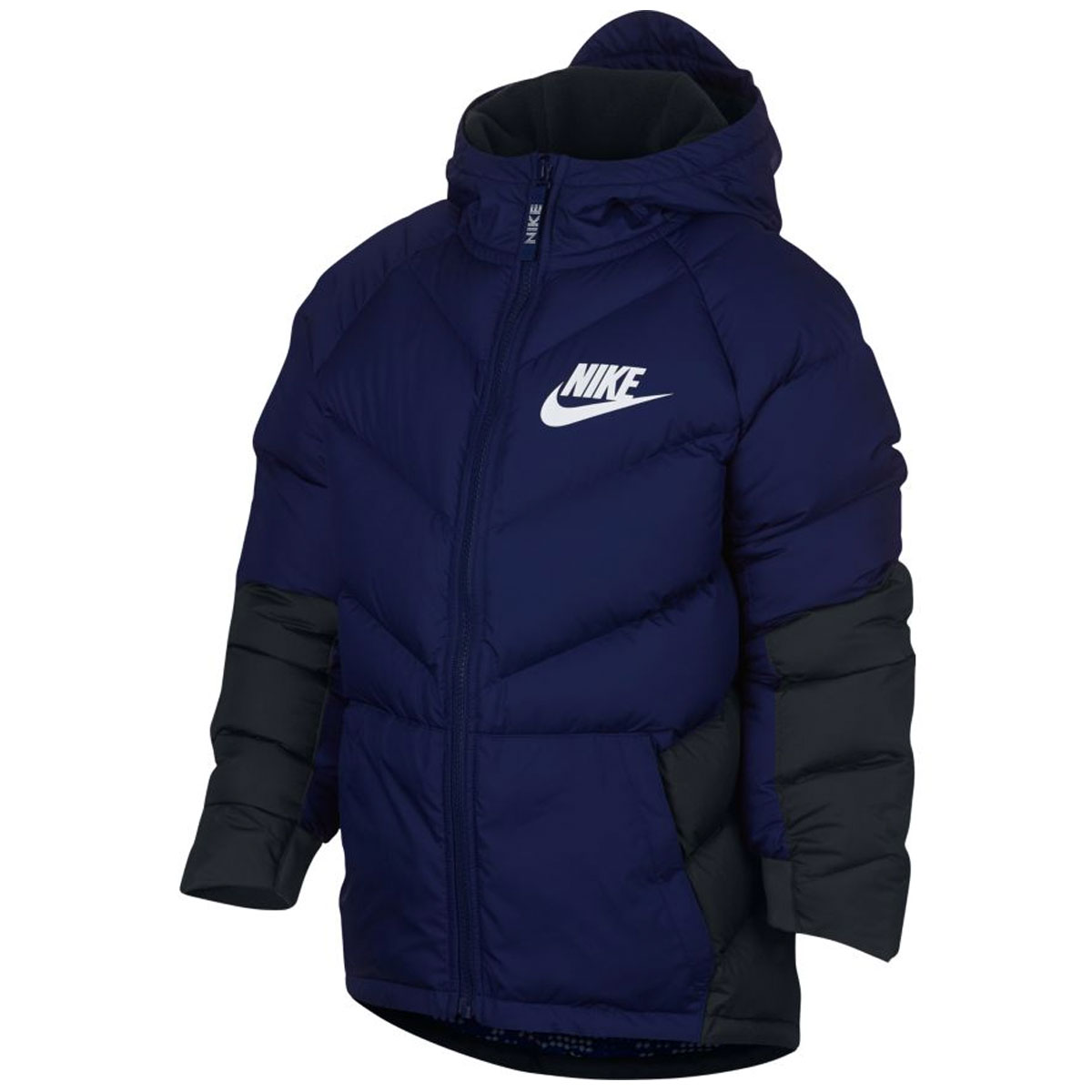 Winterjas Parka.Nike Down Filled Parka Winterjas Junior Blauw Online Kopen Bij