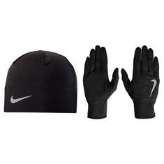 Nike Dry Hardloopset handschoenen en muts