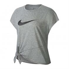 Nike DRY SIDE TIE SS TOP GRX