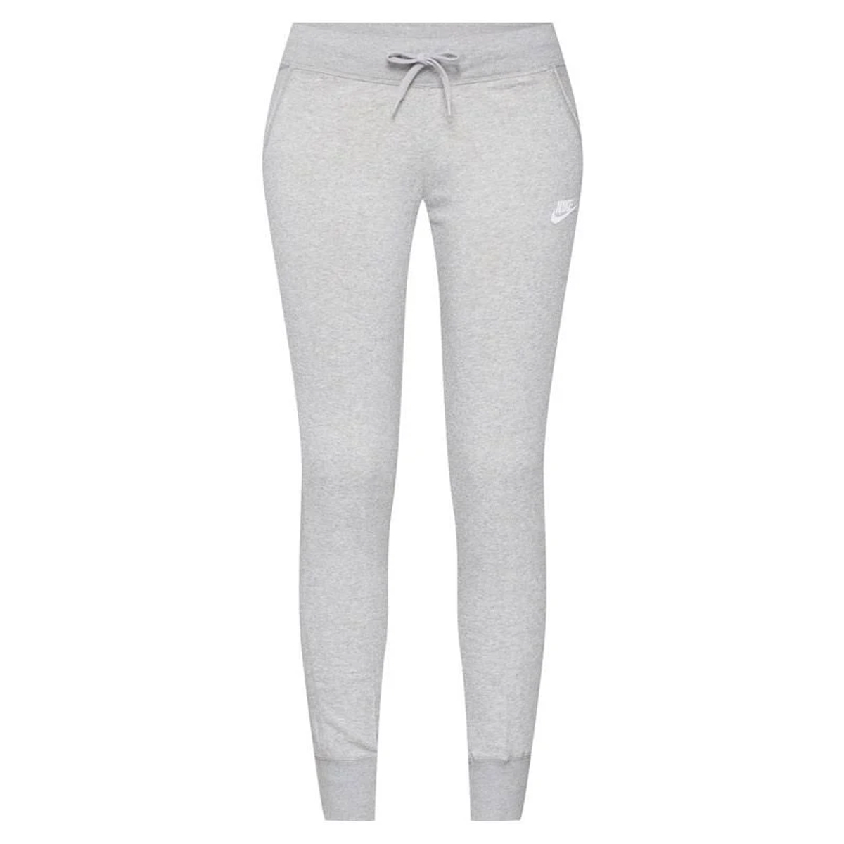 6c12d3bc911 Nike Fleece Tight Dames Joggingbroek. 807364 063 Dark Grey Heather Matte  Silver