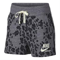 Nike Gym Vintage Short Leopard Print