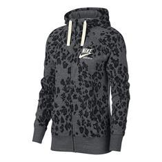 Nike Leopard Print Gym Vintage Hoodie