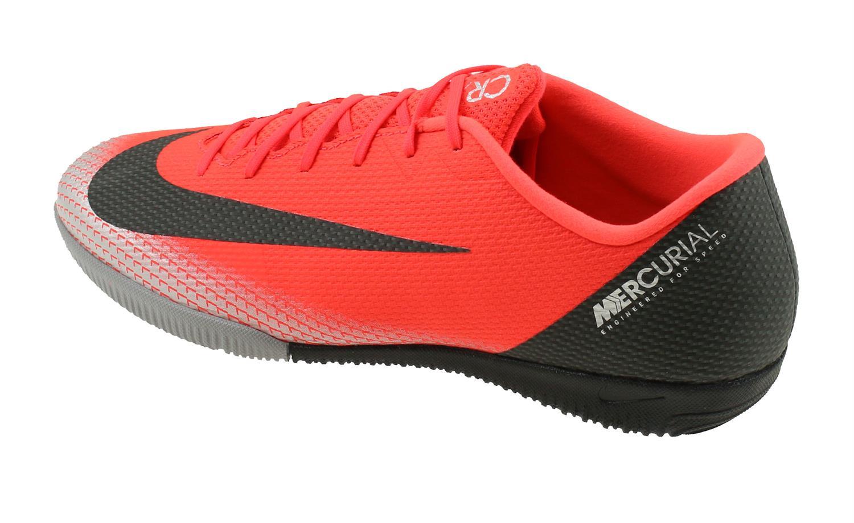 11e939418710 Nike Mercurial Vapor XII Academy CR7 Indoor. AJ3731 600 Bright Crimson Black  Chrome. Product afbeelding Product afbeelding Product afbeelding ...