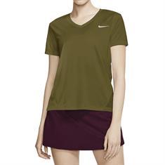 Nike Miler Hardloopshirt V-Neck