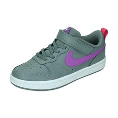 Nike NIKE COURT BOROUGH LOW 2 LITTL,SMOK