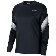 Nike NIKE WOMEN'S RUNNING TOP,BLACK/REF