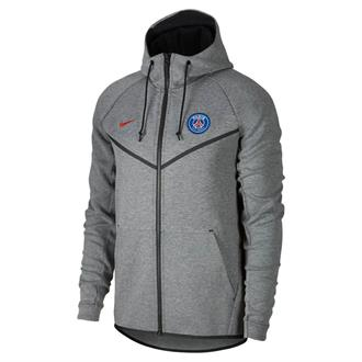 Nike Paris Saint German Tech Fleece Windrunner Full Zip Hoodie