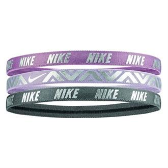 Nike PRINTED METALLIC HEADBANDS 3PK