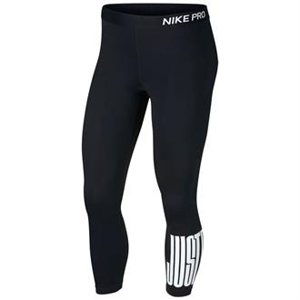 Nike Pro Crop Just Do It Block Tight