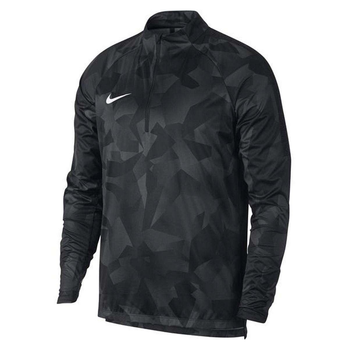 ebcec2dc187 Nike Shield Squad Dril Trainingstop WIT/ZWART online kopen bij ...