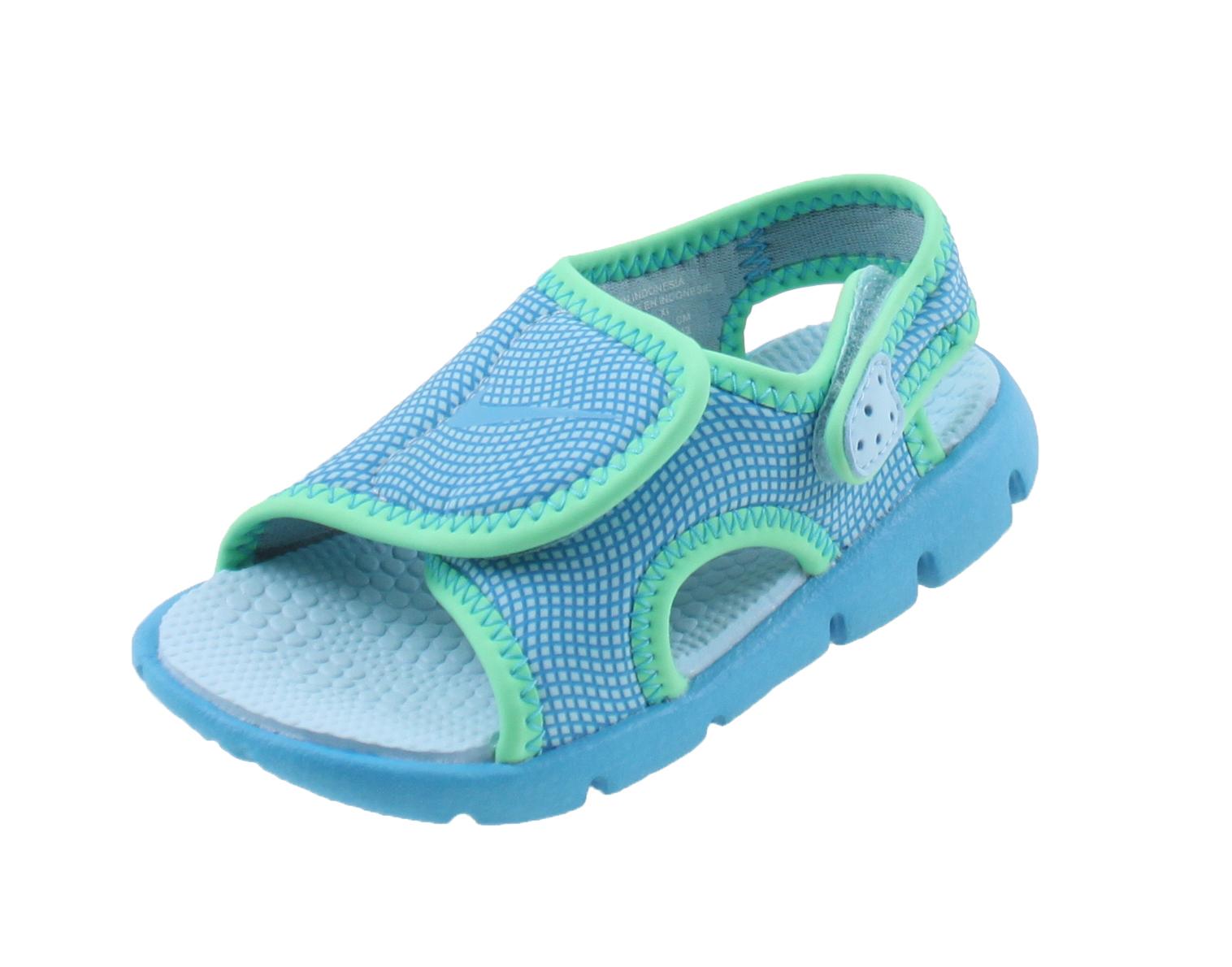 nike sunray adjust 4 sandalen blauw online kopen bij sportpaleis. Black Bedroom Furniture Sets. Home Design Ideas