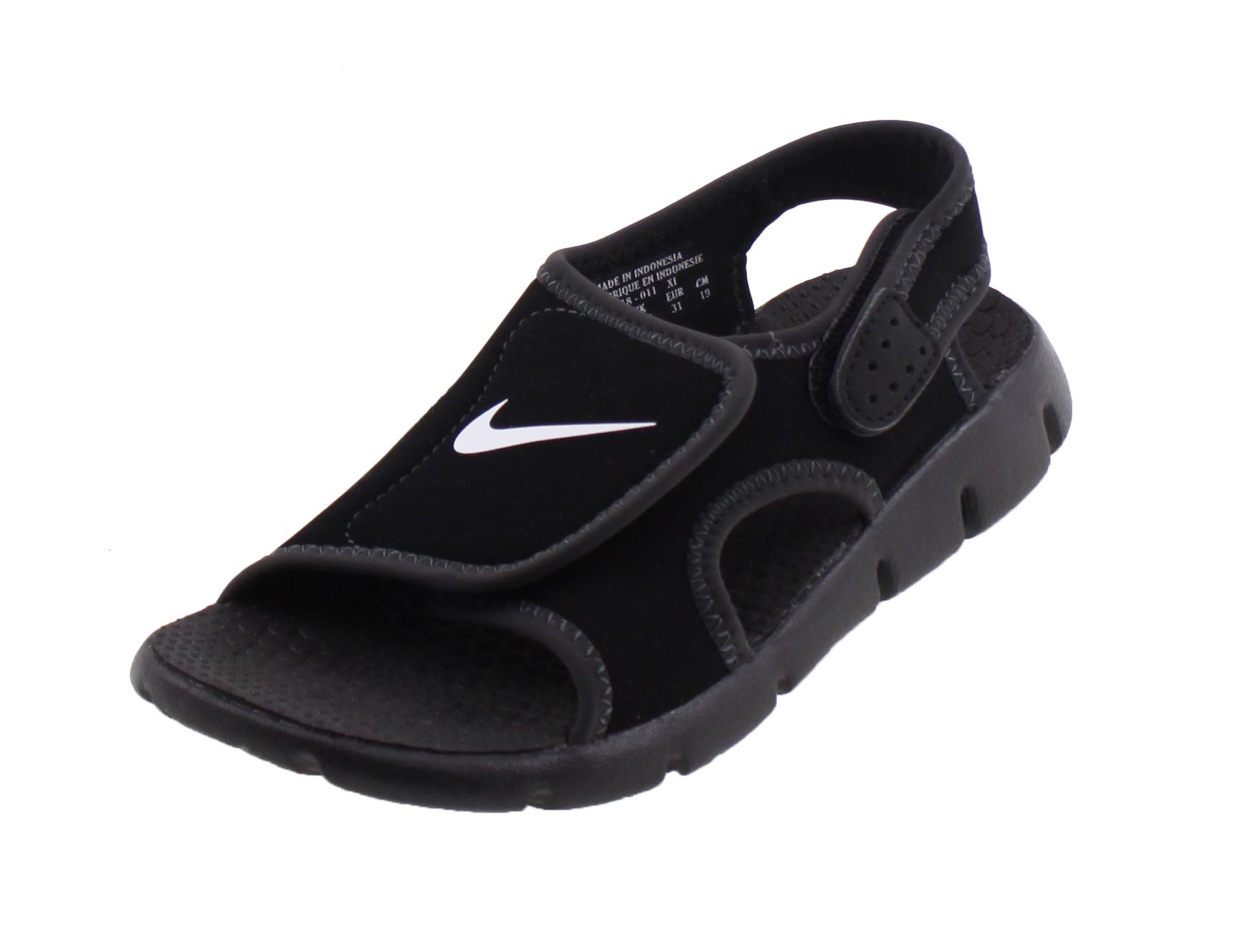 0d028bed157 Nike Sunray adjust 4 Sandalen ZWART online kopen bij Sportpaleis.
