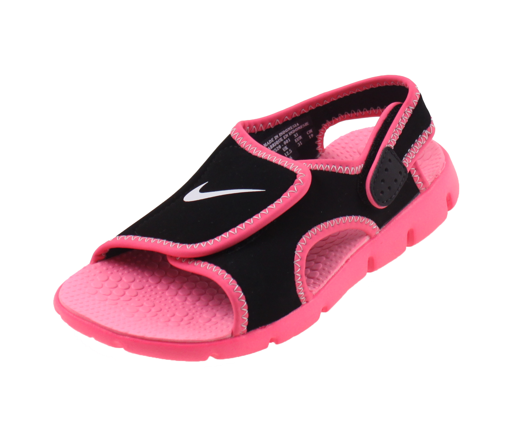 nike sunray adjust 4 sandalen zwart roze online kopen bij sportpaleis. Black Bedroom Furniture Sets. Home Design Ideas