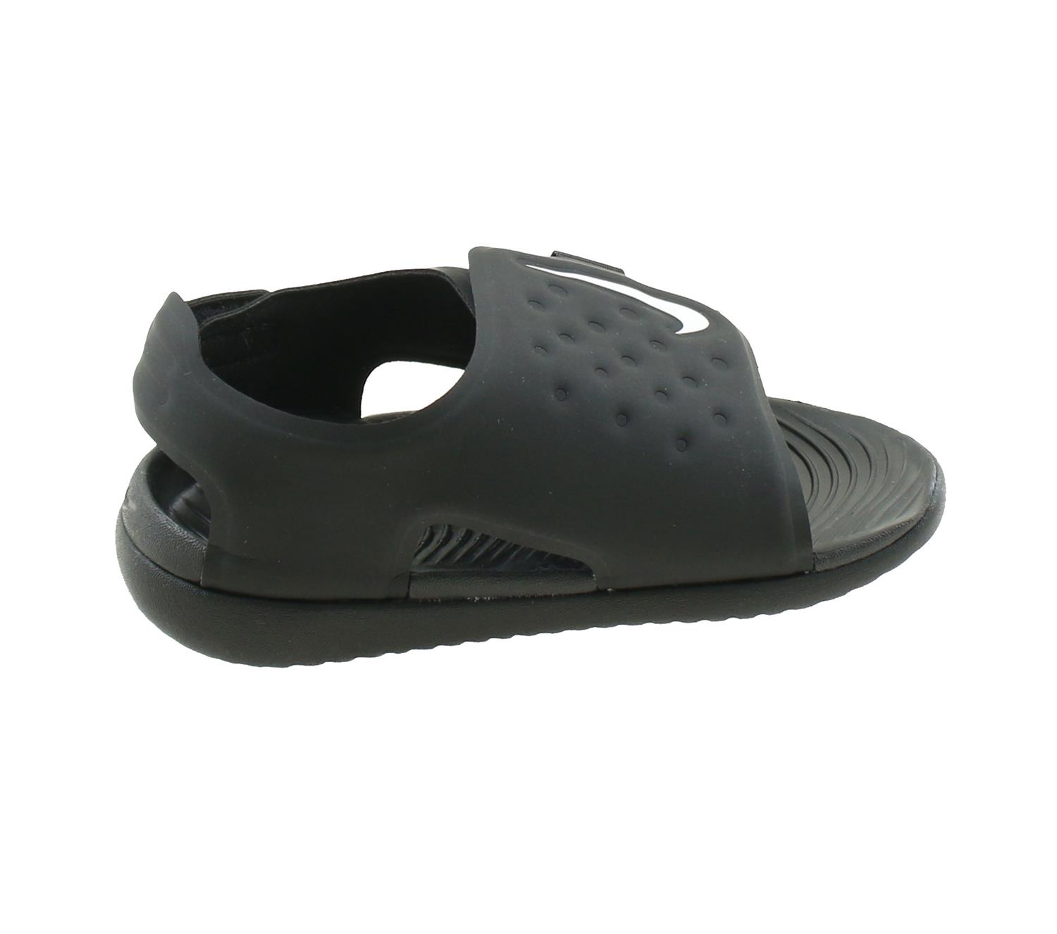 56b10973bd4 Nike Sunray Adjust 5 Peuter Sandalen. AJ9077 001 Black White. Product  afbeelding Product afbeelding ...