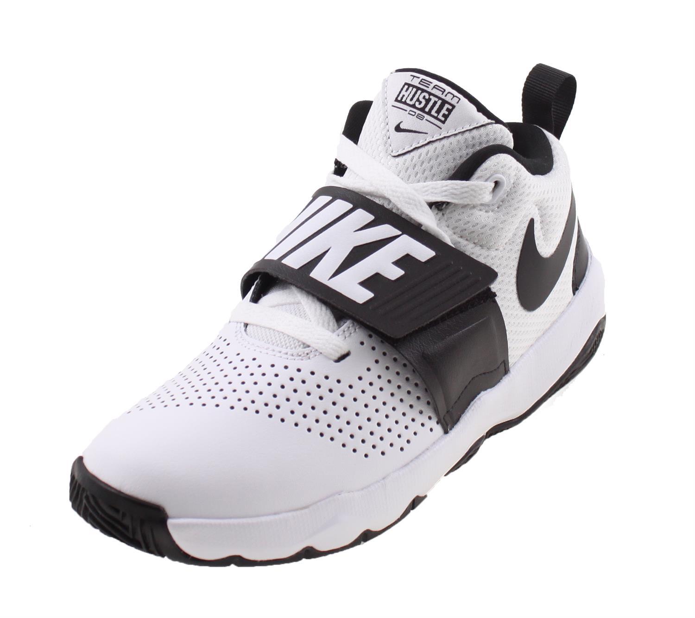 9cfa50a516b Nike Team Hustle D 8 WIT/ZWART online kopen bij Sportpaleis.