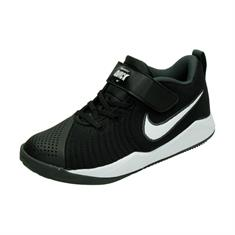 Nike TEAM HUSTLE QUICK 2 (PS),BLACK/WHIT