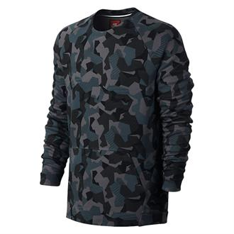 Nike Tech Fleece Crew Sweater Camo